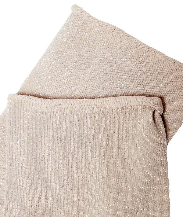 Chaussettes courtes à fils métallisés;${refinementColor}