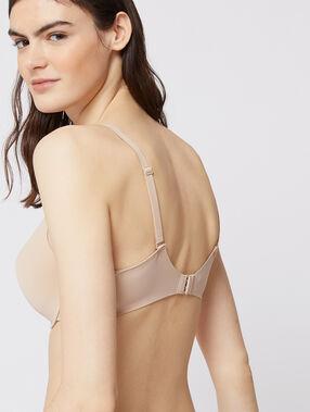 Soutien-gorge n°5 - ampliforme classique bonnets d/e beige/ peau.