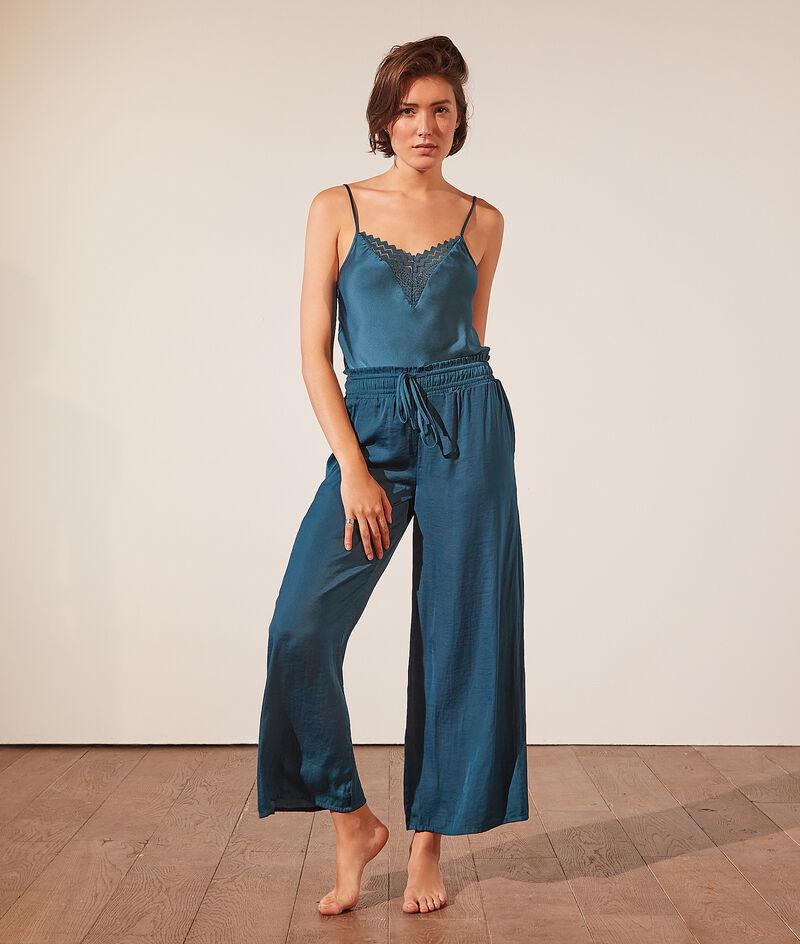 Pantalon de pyjama évasé;${refinementColor}