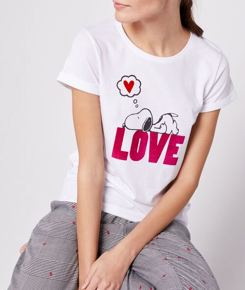 "T-shirt ""Love"" snoopy"