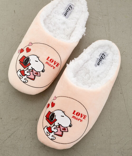 Chaussons imprimés Snoopy