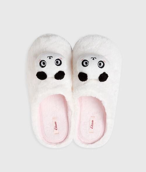 Chaussons pandas