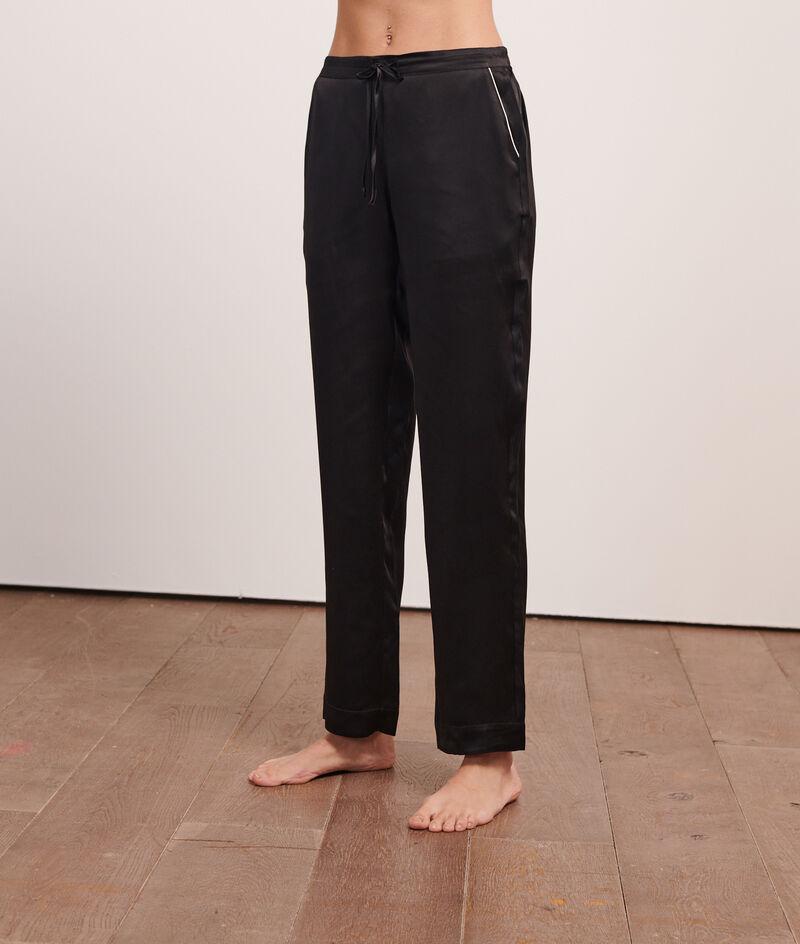 Pantalon en soie;${refinementColor}