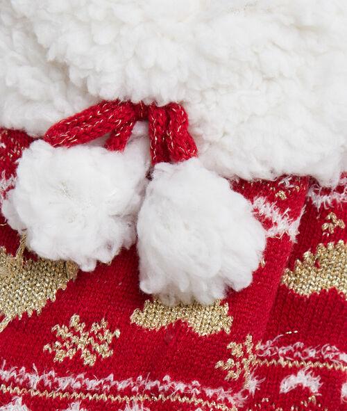 Chaussettes d'intérieur fourrées