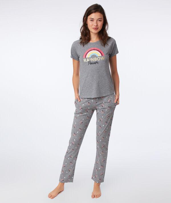 "T-shirt ""Rainbow power"";${refinementColor}"