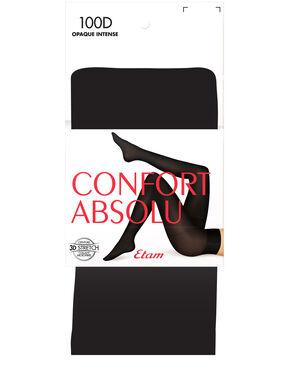 Collants opaques 100d noir.