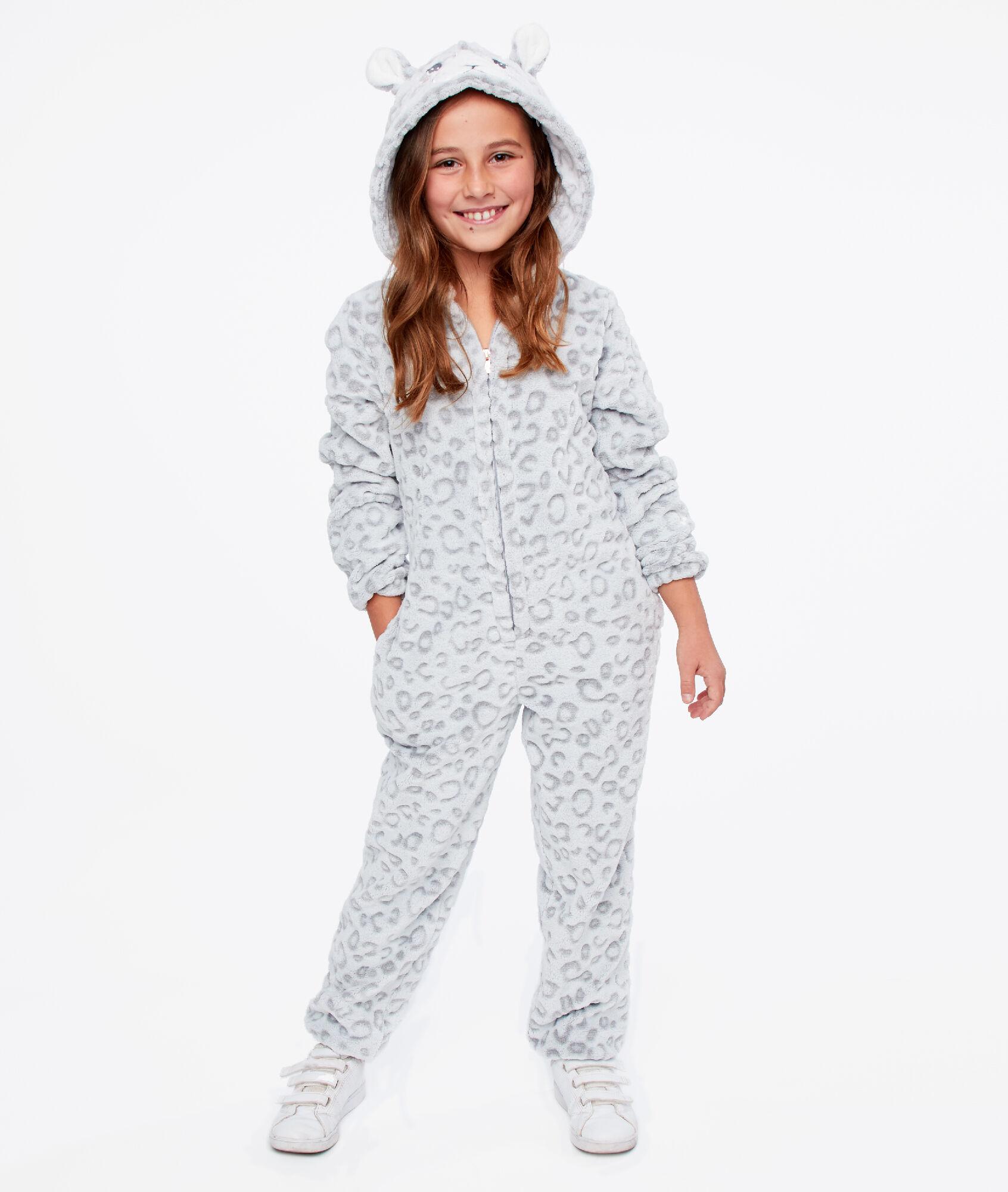 Combinaison pyjama Panthère enfant - MALINE - GRIS - Etam 0ffdad77d4b