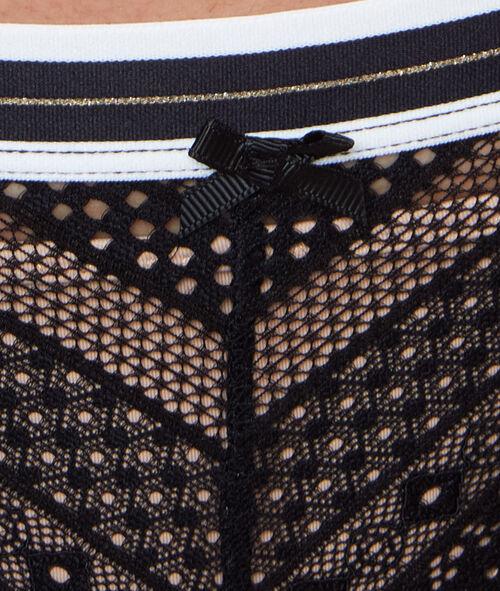 Culotte en dentelle