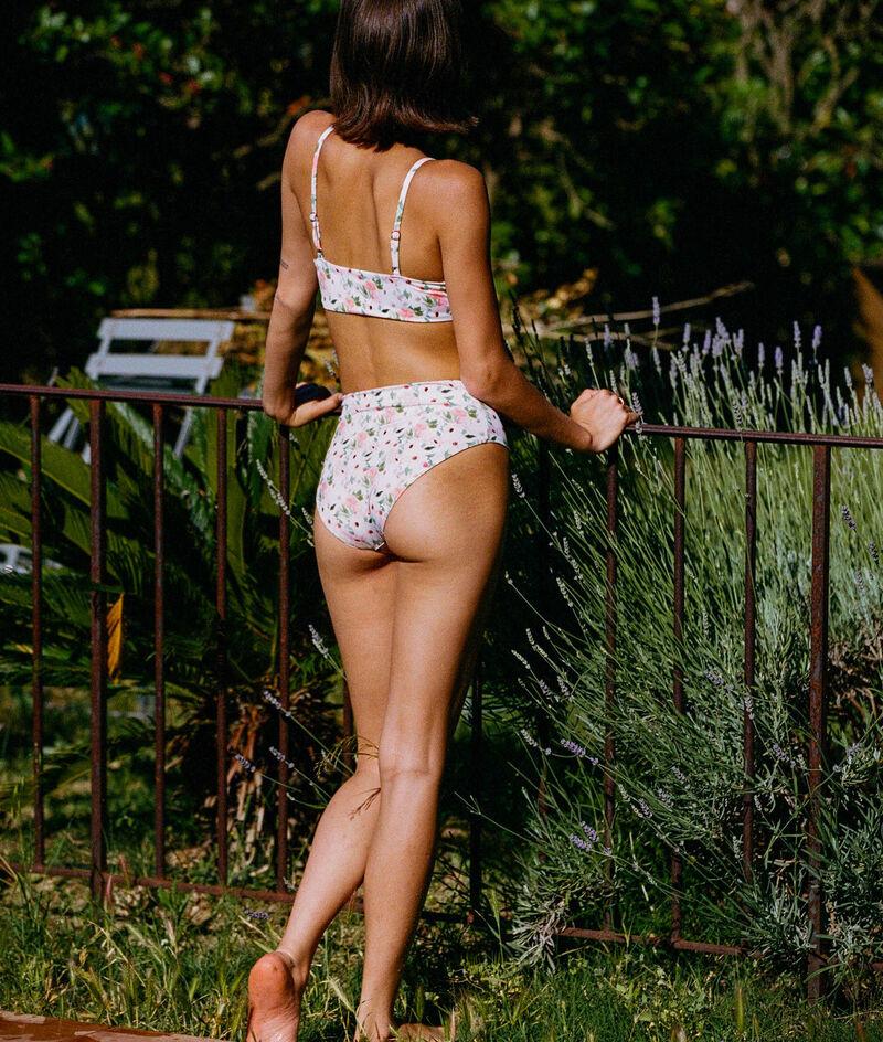 Culotte taille haute Boeo fleurie maillot de bain;${refinementColor}