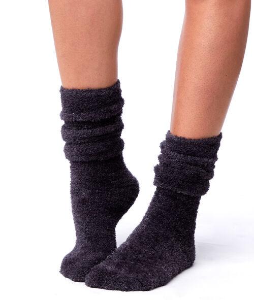 Chaussettes fibres métallisées