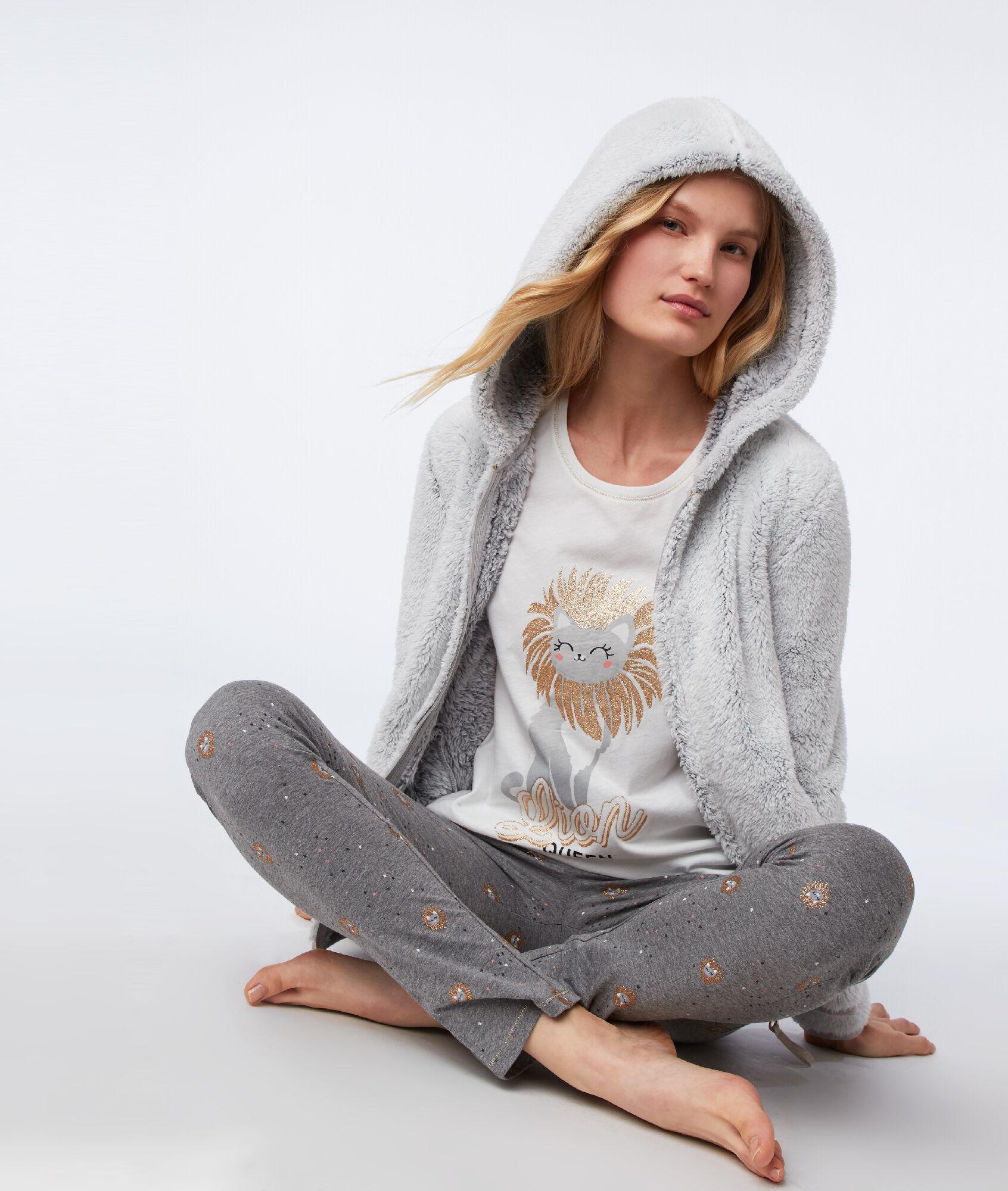 Pyjama 3 pièces Chat