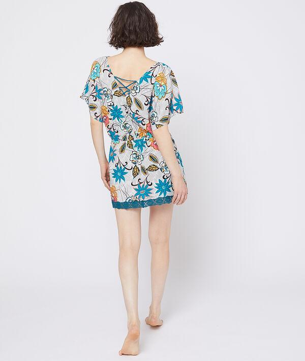 Chemise de nuit à imprimé floral