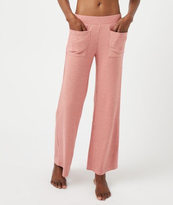 Pantalon côtelé avec poches;${refinementColor}