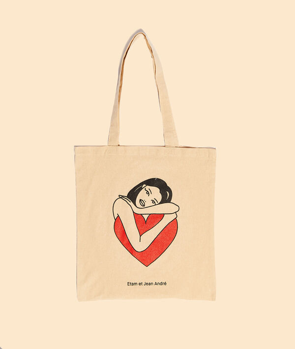 "Tote bag tattoo ""Selflove"";${refinementColor}"