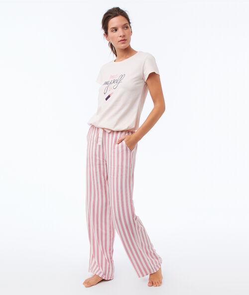 Pantalon évasé