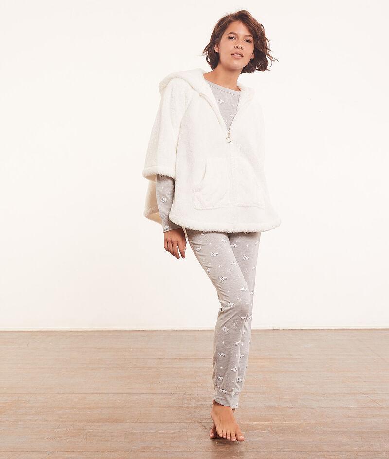 Pyjama 3 pièces avec poncho;${refinementColor}