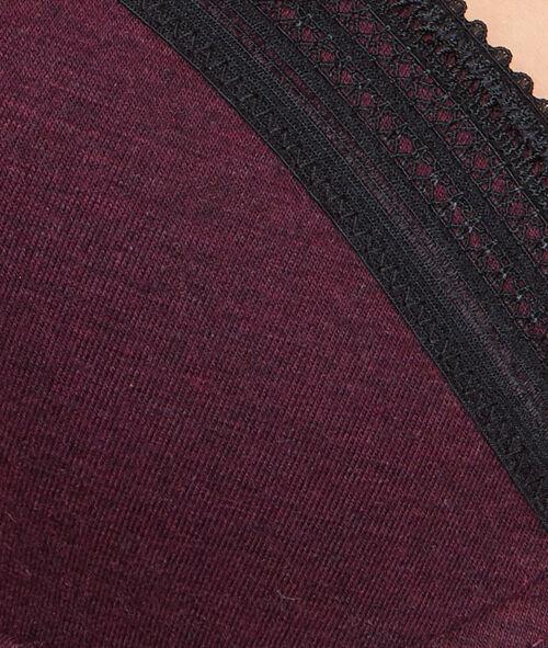 Soutien-gorge ampliforme coton