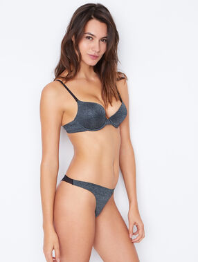 Soutien-gorge n°1 - push up anthracite.