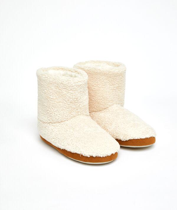 Chaussons bottines doudou