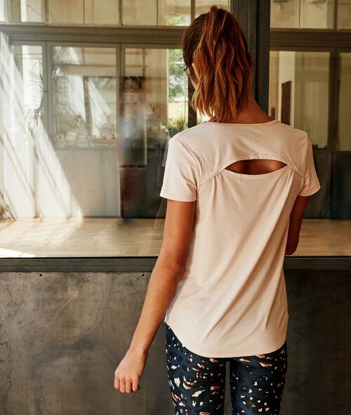 T-shirt à dos ouvert