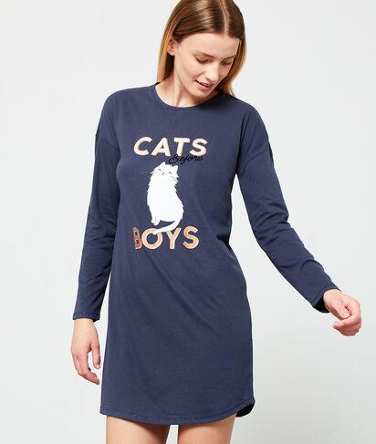 """SHYLO - NUISETTE IMPRIMÉE """"CATS BEFORE BOYS"""""""