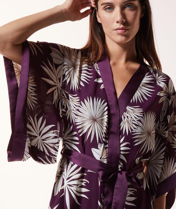 Kimono imprimé;${refinementColor}