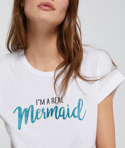 T-shirt à message