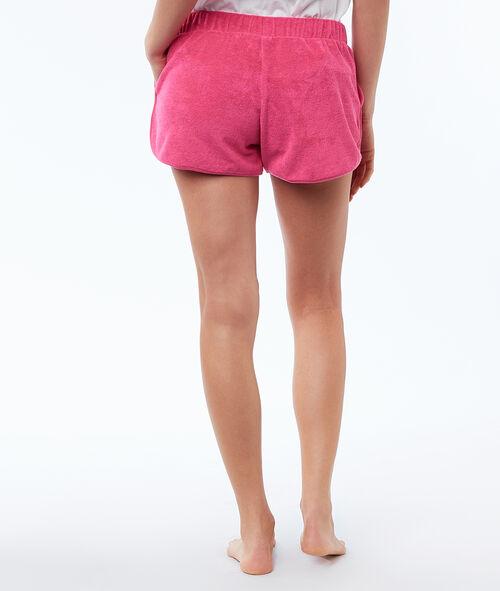 Short en tissu éponge