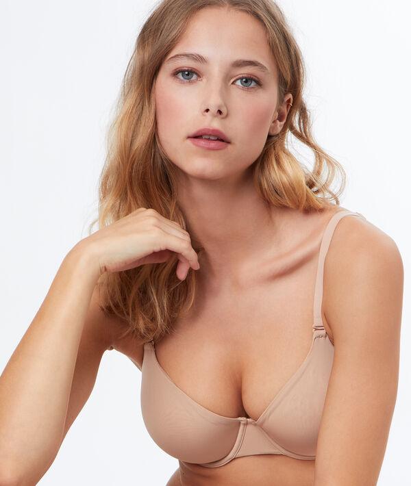 Soutien-gorge corbeille, bonnet e - PURE FIT® - 85E - Beige - Femme - Etam