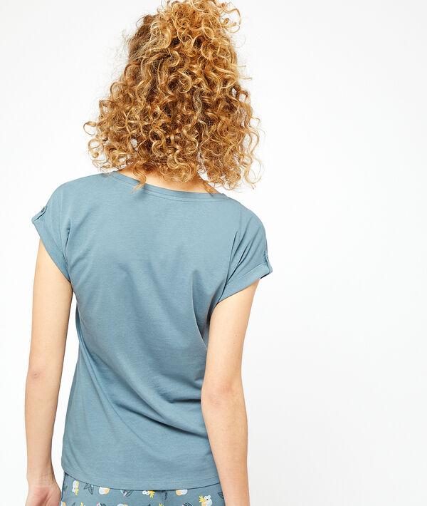 T-shirt imprimé;${refinementColor}