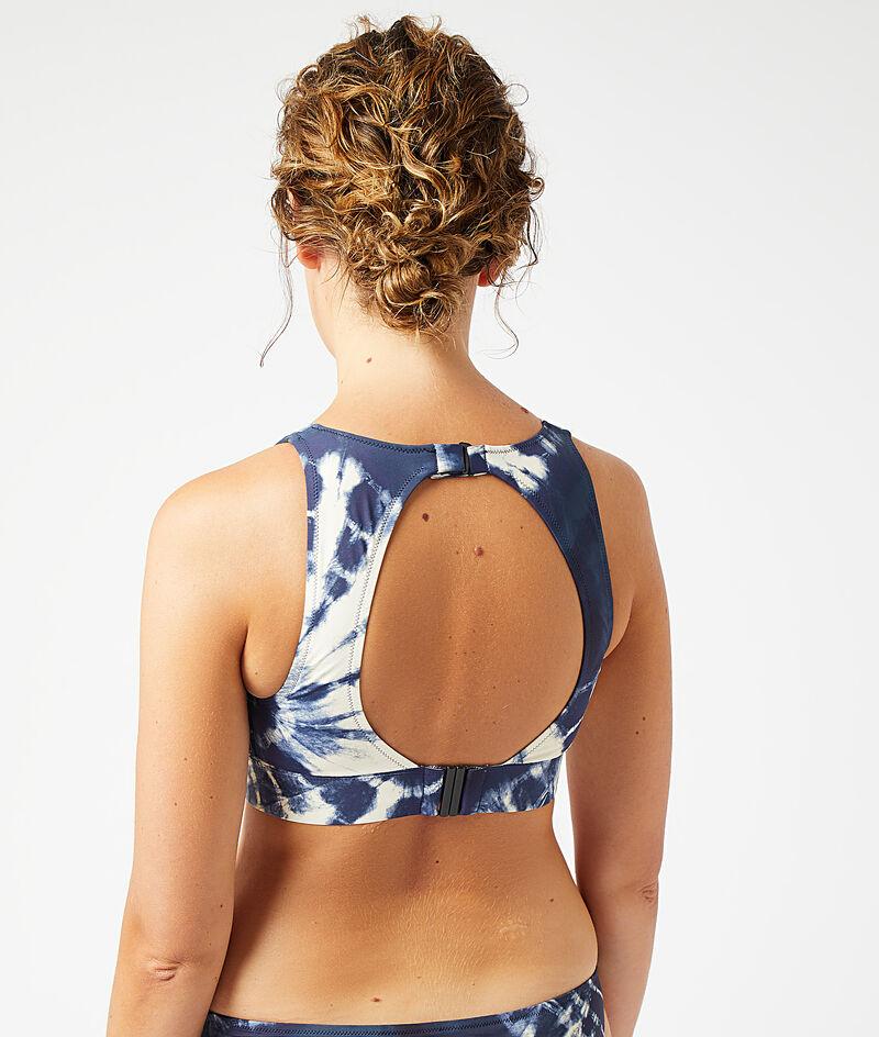 Haut de maillot de bain post-mastectomie brassière;${refinementColor}