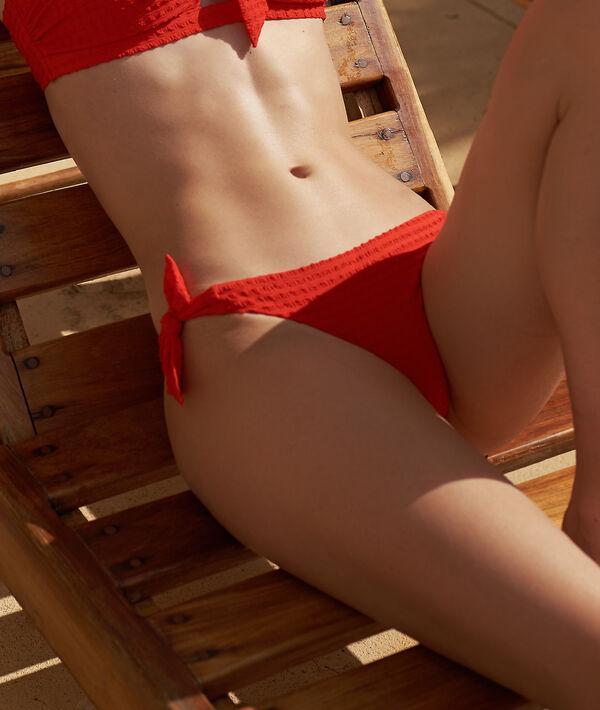 Bas de bikini à nouettes
