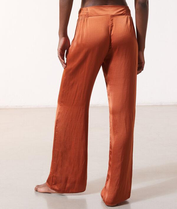 Pantalon de pyjama à nouer;${refinementColor}