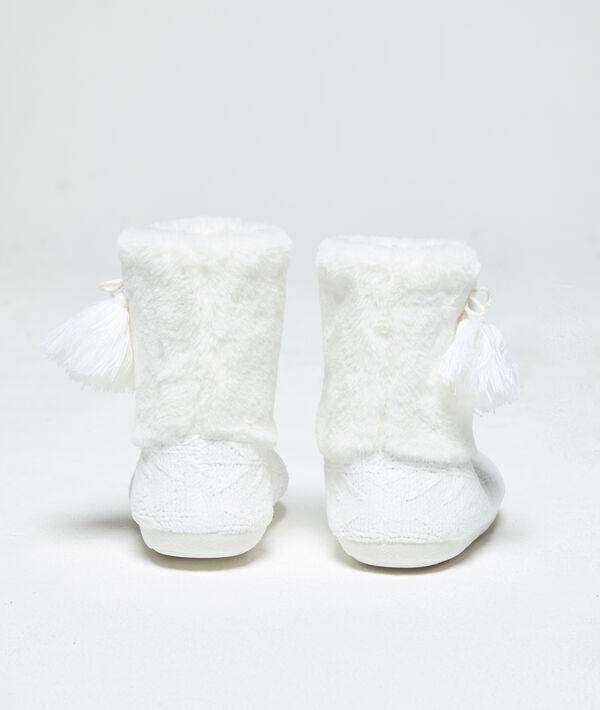 Chaussons bottines