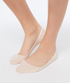 Paire de protège pieds peche.