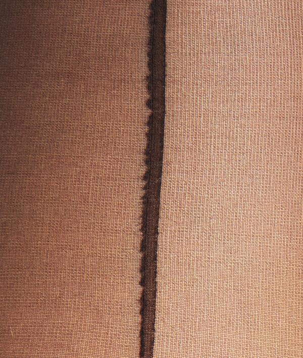 Collants voile 15D couture dos