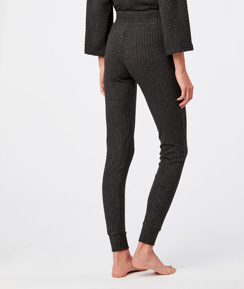 Pantalon homewear côtelé