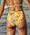 Bas de bikini taille haute