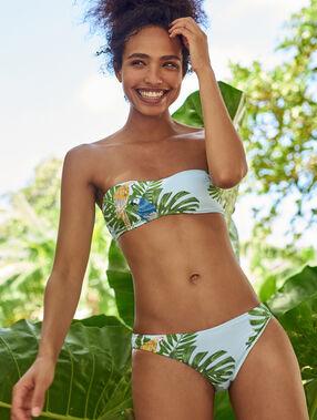 Bas de bikini simple multicolore.
