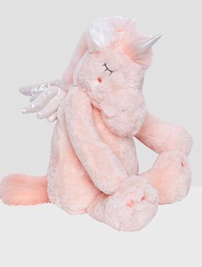 Range-pyjama licorne rose.