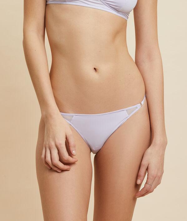 Bikini en microfibre et dentelle;${refinementColor}