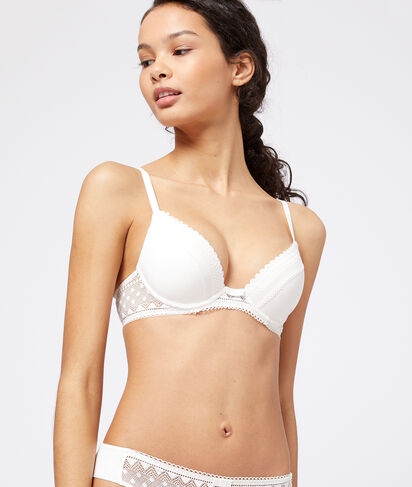 MOVE - SOUTIEN-GORGE N°2 - PUSH-UP PLONGEANT EN MICROFIBRE