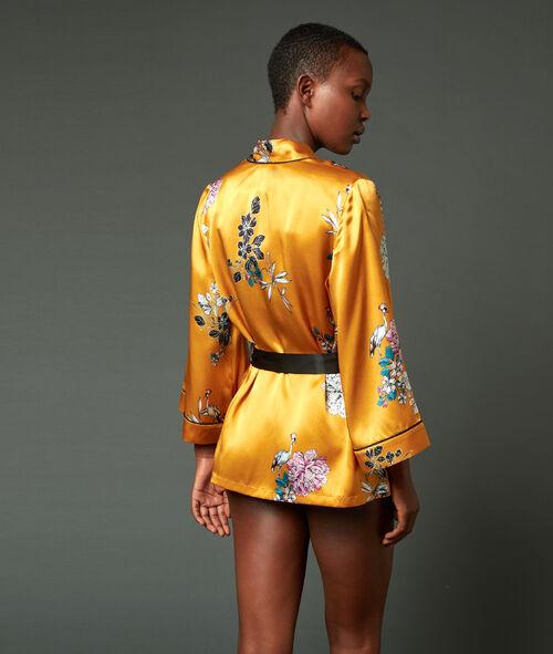 Déshabillé kimono 100% soie