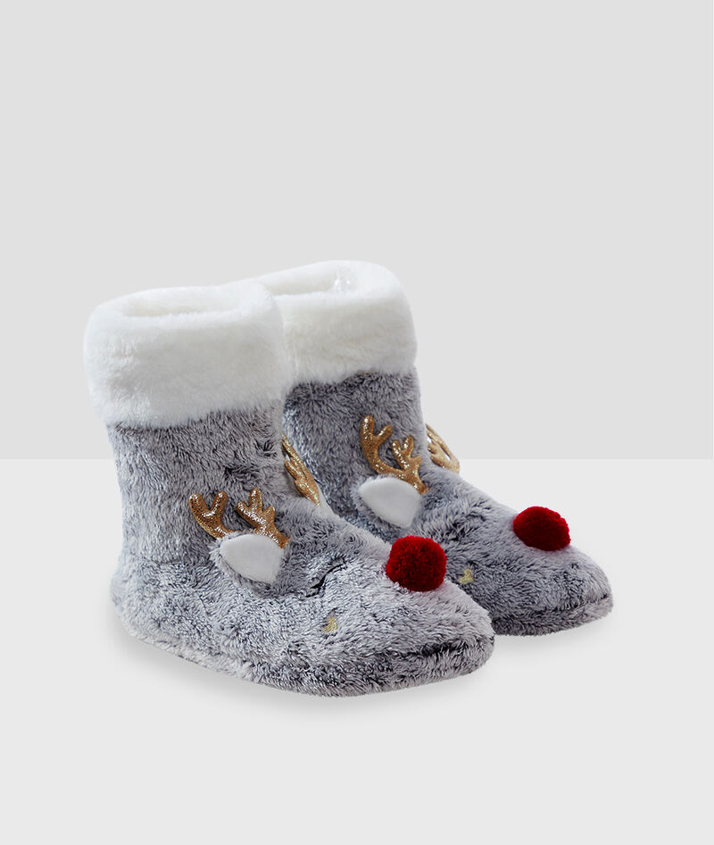 CHAUSSONS BOTTINES ANIMAUX