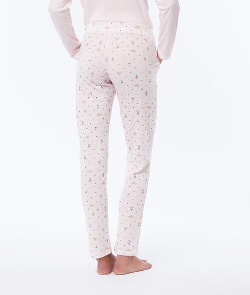 Pantalon de pyjama à motifs