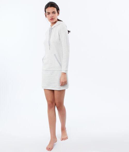 Robe sweat homewear en molleton