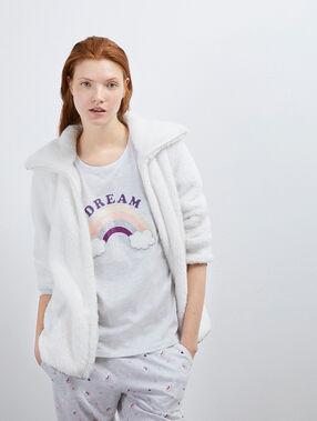 Pyjama 3 pièces dreams ecru.