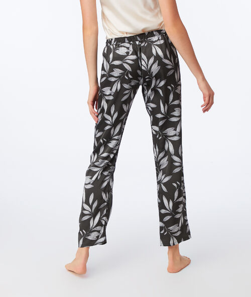 Pyjama 3 pièces imprimé floral