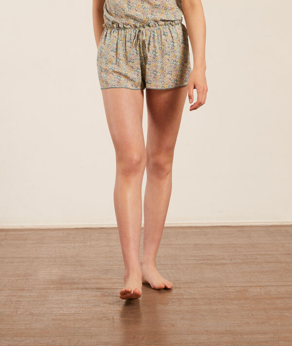 Short pyjama Made with Liberty Fabric;${refinementColor}