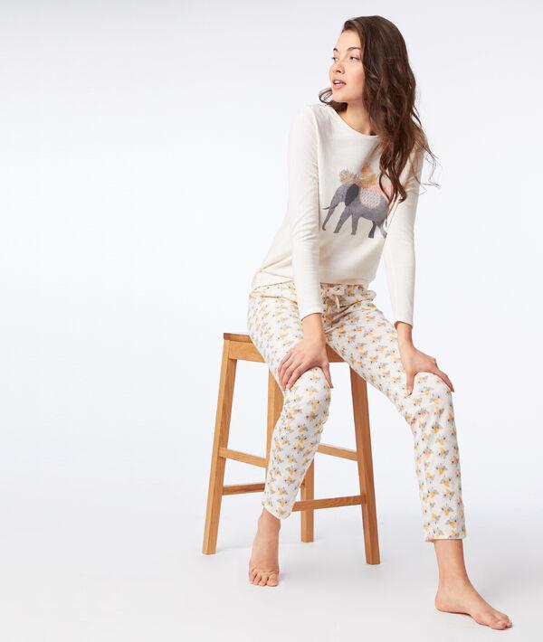 T-shirt manches longues éléphant;${refinementColor}